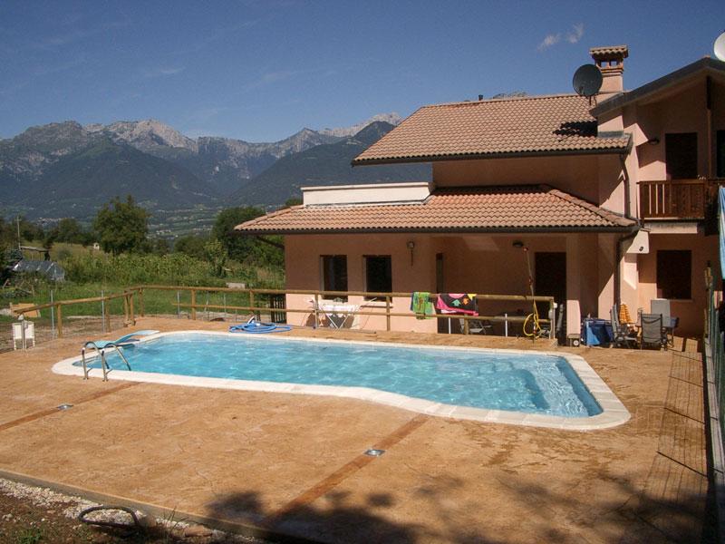 Out vakantiehuis it ven 0002 lentiai 12 personen - Buiten villa outs ...