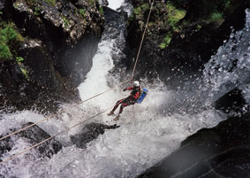 Canyoning in het Sierra y Caones de Guara Nationaal Park