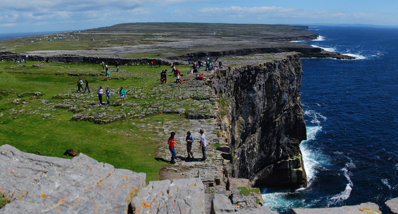 Dun Aonghasa op de Aran-islands
